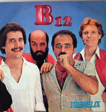 Capa do Single B-12 (1980)